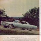 1965 CADILLAC DEVILLE DE VILLE VINTAGE CAR AD