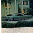 1966 CADILLAC DEVILLE DE VILLE VINTAGE CAR AD