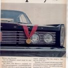 1965 MERCURY VINTAGE CAR AD 2-PAGE