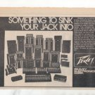1973 PEAVEY COMPLETE LINE SINK YOUR JACK INTO AD