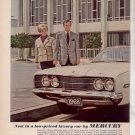 * 1968 MERCURY MONTEGO STERLING HUNT PRINT AD 2-PAGE