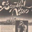 * 1976 NEIL DIAMOND BEAUTIFUL NOISE PROMO AD