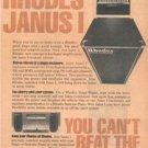 1978 RHODES JANUS I KEYBOARD AMPLIFIER AD