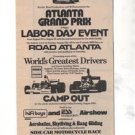 1975 ATLANTA GRAND PRIX ATLANTA RHYTHM SECTION AD