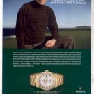 JIM NANTZ ROLEX WATCH AD