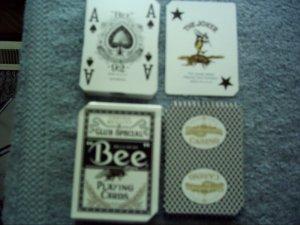 Casino Playing Cards Deck Blue Bordertown Seneca, Missouri