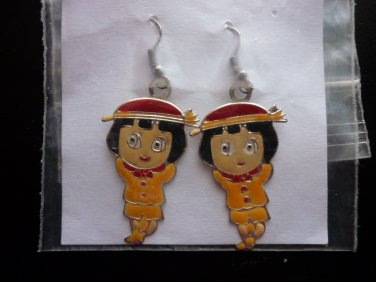 Earrings (Pierced) Indian Children by Non-Native Americans