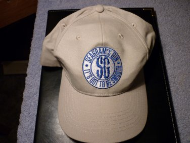 """SG Seagram's Gin """"It's Got To Be Smooth"""" Baseball Cap."""