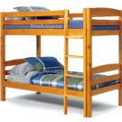 Twin Over Twin Bunk Bed Woodworking Plans Design #1201