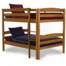 Full  Over Full Bunk Bed  Woodworking Plans Design #1202