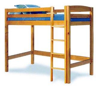 Twin Loft Bed Woodworking Plans Design #1203