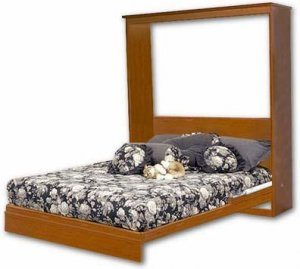 Easy Murphy Wall Queen, Full, Twin Bed Project Plans, Design #0ESY1