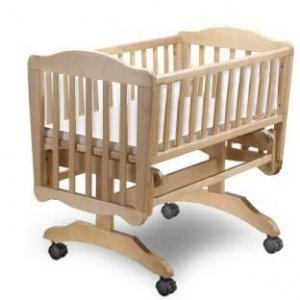 Nursery Baby Cradle Bed Project Plans/patterns, Design #5CRD1