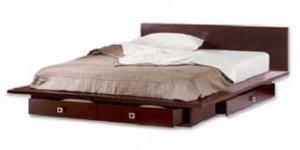 Classic Platform Queen Bed Woodworking Plans, Design #3PLT1
