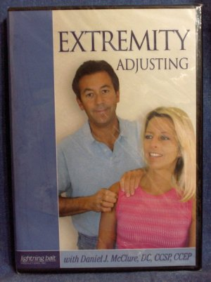 Extremity Adjusting with Daniel J. McClure, DC, CCSP, CCEP chiropractic Dr. Dan