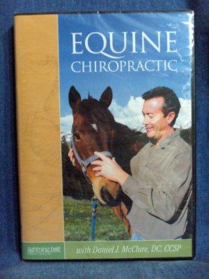 Equine Chiropractic DVD - Dr. Daniel J.  McClure, DC, CCSP - Dr. Dan