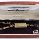 Vintage Anson Key Chain & Original Box NOS 12KT GF