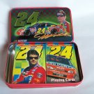 NASCAR Jeff Gordon Two Sealed Decks Playing Cards Collectible Numbered Tin