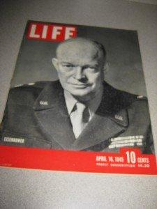 Life Magazine April 16 1945 Eisenhower American POWs