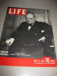 Life Magazine May 21 1945 Churchill Germans Surrender
