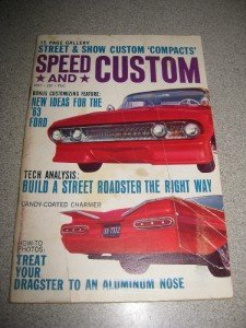 May 1963 Speed & Custom Magazine Rod Dragster Roadster