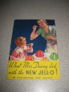 "Vintage 48 New Recipes for the ""New"" Jello 1933 Booklet"