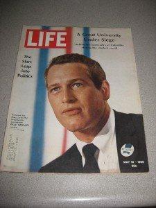 Life Magazine 5/10/68  Paul Newman Stars In Politics
