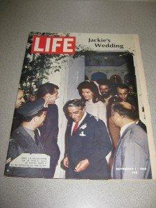 Life Magazine November 1, 1968 Jackie's Wedding