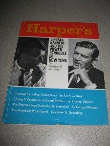 January 1966 Harper's Magazine John Lindsay R Kennedy