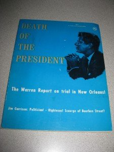 Book Death of Kennedy- Jim Garrison-1967-Warren Report