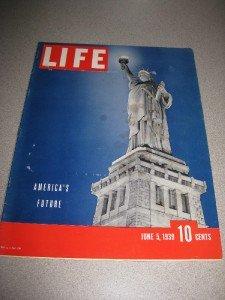 Life Magazine June 5 1939 America's Future Color Cover