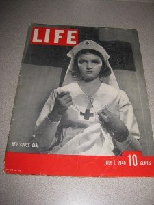 Life Magazine July 1940 Red Cross Girl WWII Swim Suits