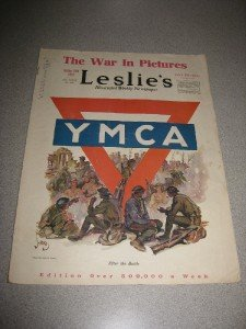 Leslies Weekly WWI in Pictures YMCA October 1918