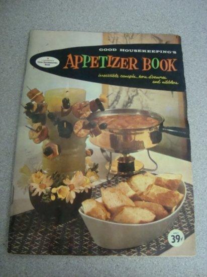 1958 Cookbook Good Housekeeping's Appetizer Book