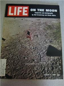 Life Magazine  Aug 8 1969 On the Moon Watergate Ads