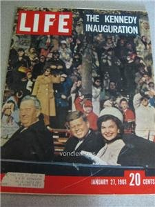 Jan 27 1961 Life Magazine The Kennedy Inauguration Ads