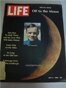 Life Magazine July 4 1969 Special Issue Off to the Moon