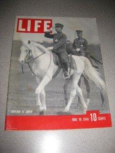Life Magazine June 10 1940 Emperor Hirohito Japan Nylon