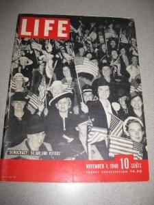 Life Magazine November 4, 1940 Democracy,Wilkie, War