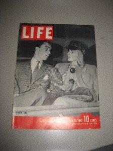 Life Magazine 12/23/40 WWII Lana Turner Best Watches