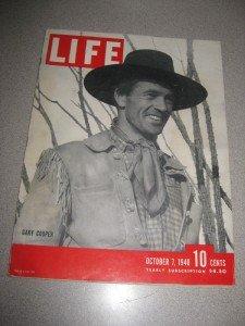 Life Magazine Oct 7 1940 Gary Cooper Bombing of London