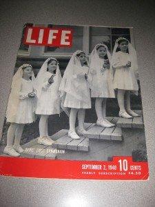 Life Magazine Sept 2 1940 Dionne Quints Trotsky Dies