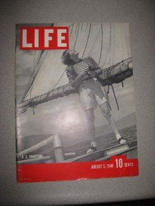 Life Magazine Aug 5 1940 Vacations Hitler Lucille Ball