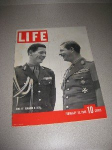 Life Magazine February 19 1940 King of Rumania Mae West