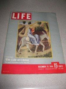 Life Magazine December 23, 1946 Life of Christ Movie Ad