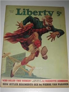 July 27 1940 Liberty Magazine HR McBride Cover