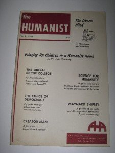 Jan 1955 The Humanist Association Magazine AHA
