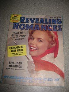 Vintage Revealing Romances Magazine April 1960