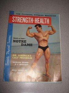 April 1960 Strength & Health Magazine George Orlando