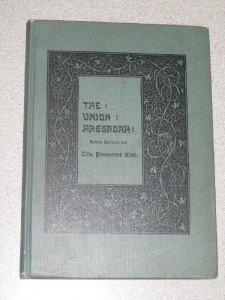 Vintage Union Haggadah Passover Eve Home Service 1908